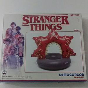 NWT Stranger Thing Pool Float Demogorgon